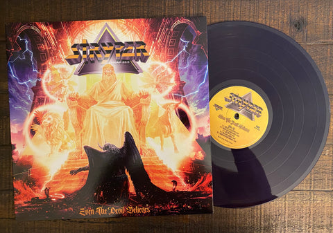Stryper - Even The Devil Believes (Purple LP)