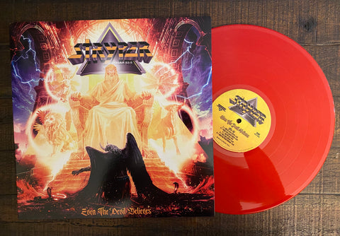 Stryper - Even The Devil Believes (Red LP)