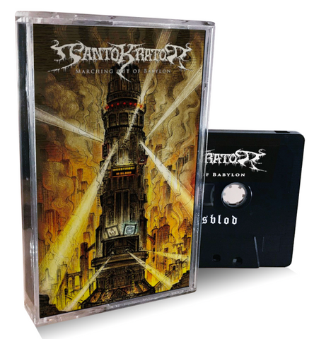 PANTOKRATOR - Marching Out Of Babylon (2021) Cassette Tape