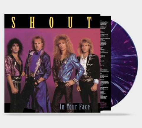 Shout - In Your Face (Limited Run 180g Vinyl)