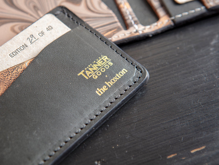 Card Wallet by Tanner Goods