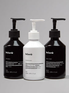 Blank Body Wash, Shampoo & Conditioner