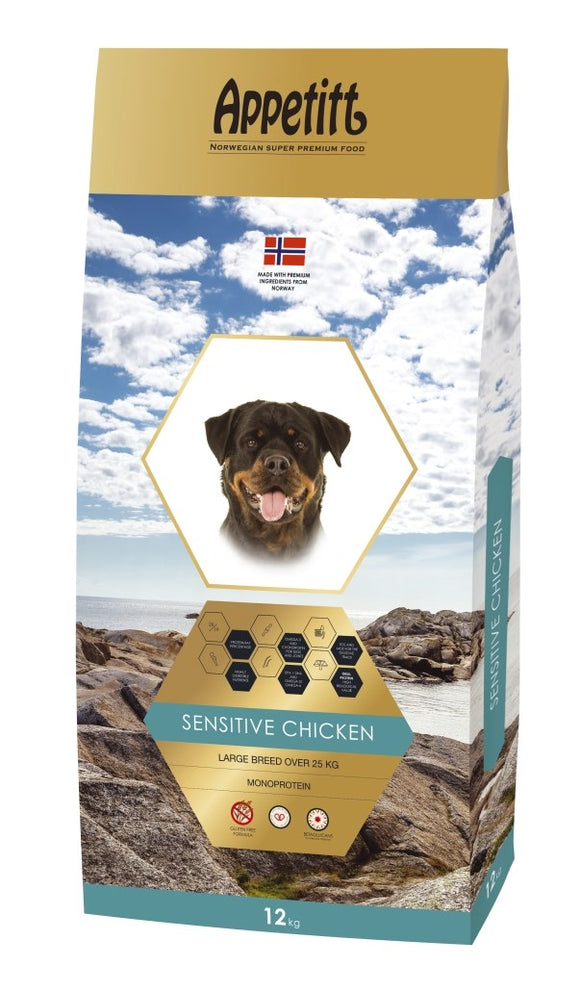 Appetitt Senisitive Chicken Large Breed