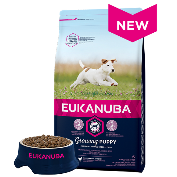 Eukanuba Growing Puppy Small Breed 3kg