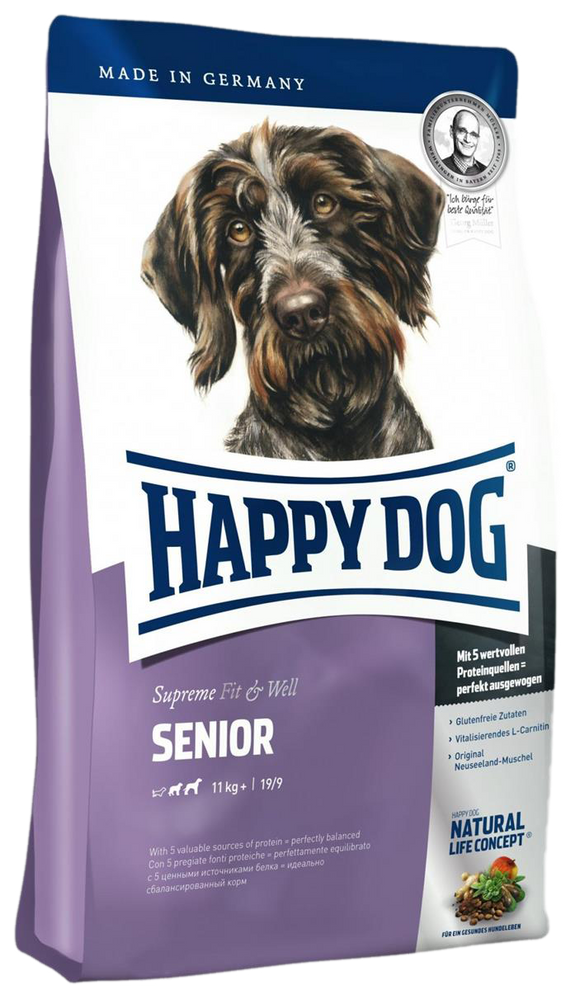 Happy Dog Supreme Fit & Well Senior Med/Maxi