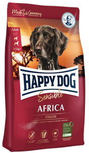 Happy Dog Supreme Sensitive Africa Med/Maxi (Afrikansk Struts)