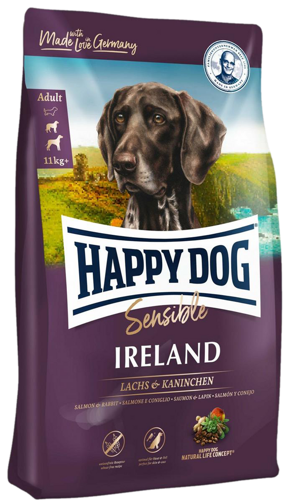 Happy Dog Supreme Sensitive Ireland Med/Maxi (Laks & Kanin)