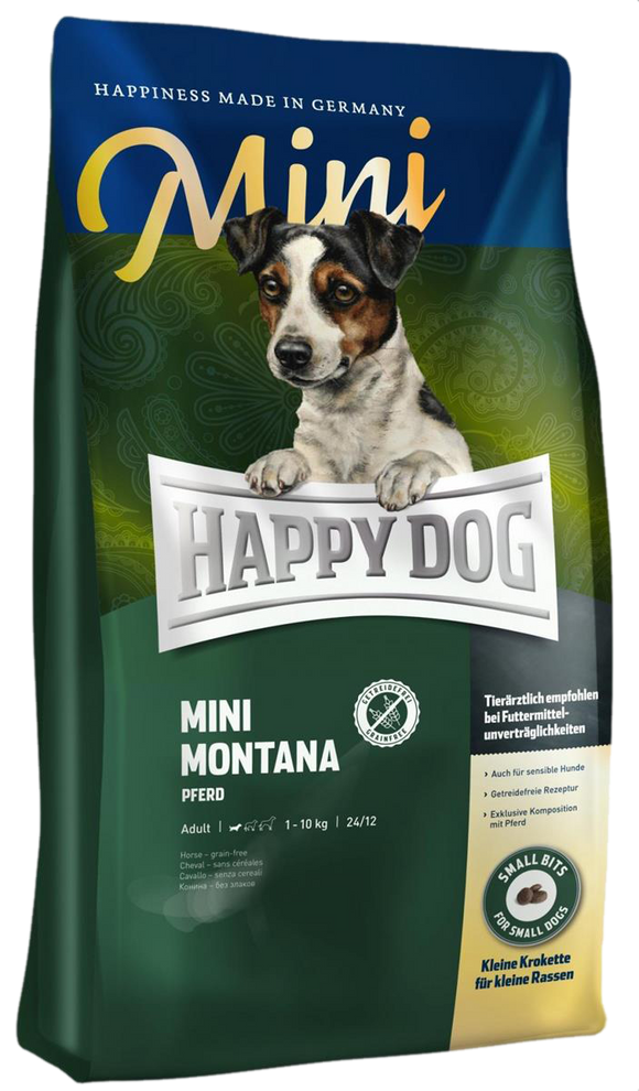 Happy Dog Supreme Sensitive Montana Mini (m/Hest)