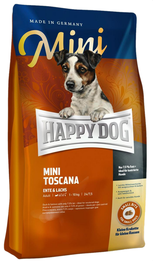 Happy Dog Supreme Sensitive Toscana Mini (And & Laks)