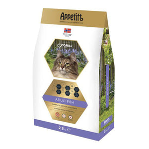 Appetitt Cat Adult Fish 2,5 kg