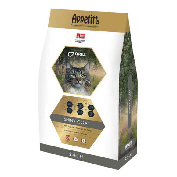 Appetitt Cat Shiny Coat 2,5 kg