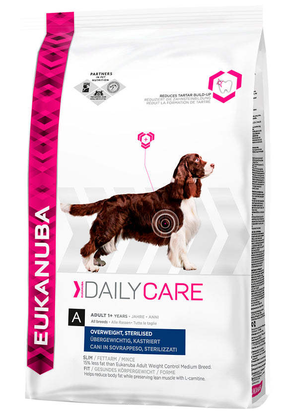 Eukanuba Daily Care Overweight/Sterilized 2,5 kg
