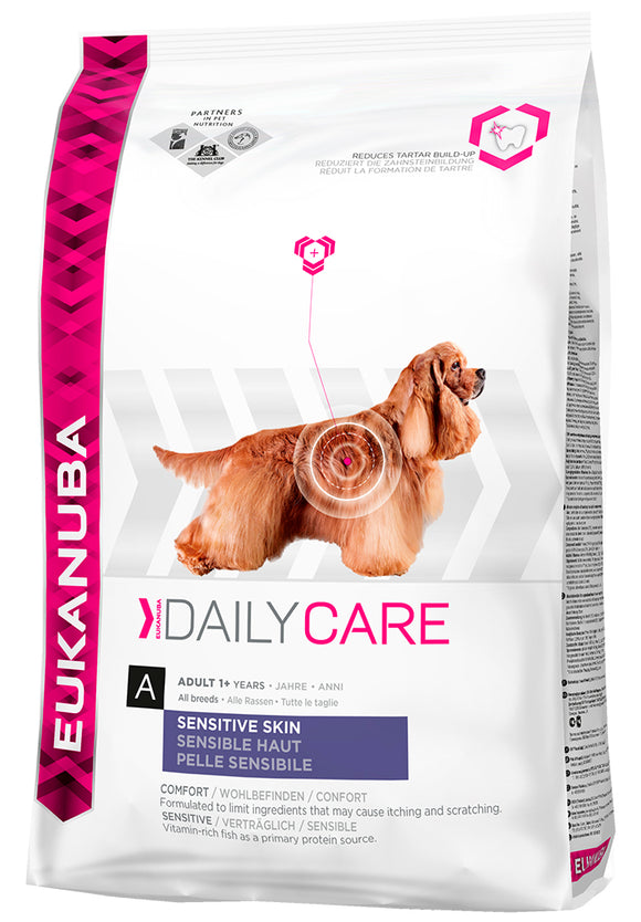 Eukanuba Daily Care Sensitive Skin 2,5kg
