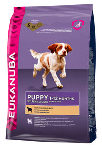 Eukanuba Puppy Lamb & Rice All Breed 2,5kg