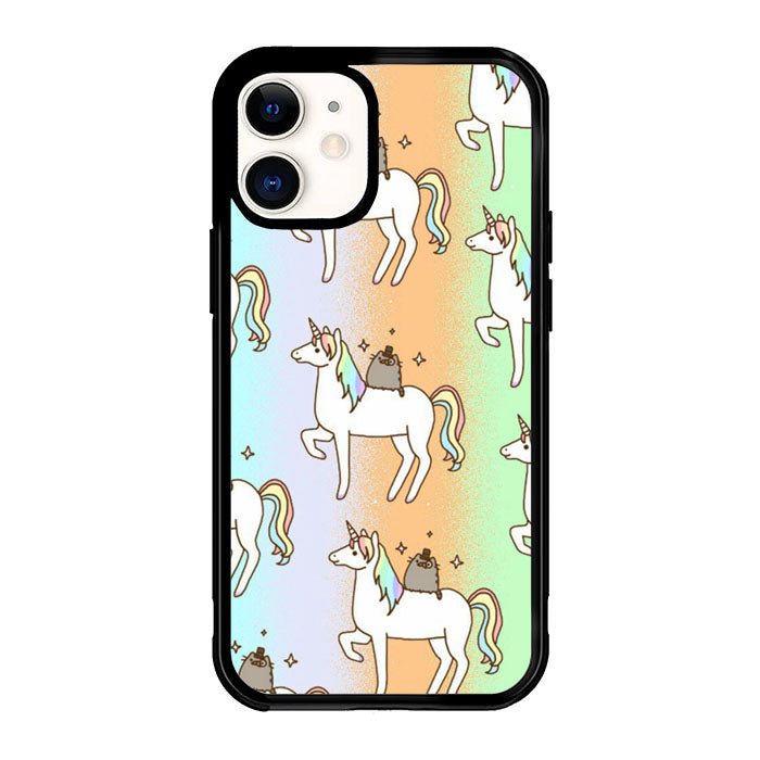Pusheen and Unicorn S0106 iPhone 12 Mini Case