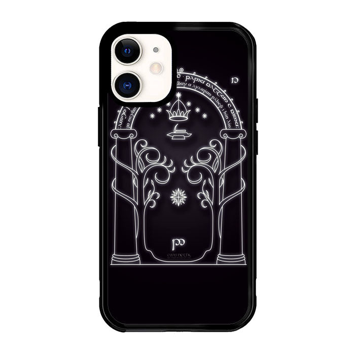 Magic Gate Of Moria Lord Of The Ring The Hobbit F0201 iPhone 12 Mini Case