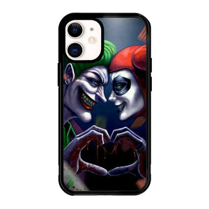 Harley Quinn And Joker Love F0447 iPhone 12 Mini Case