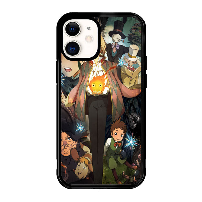 Studio Ghibli Howl'S Moving Castle Z0219 iPhone 12 Mini Case