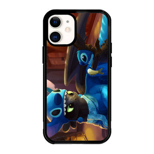 Toothless and Stitch Parody  Z0364 iPhone 12 Mini Case