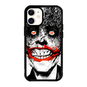 CREEPY SMILE FACE JOKER Z0981 iPhone 12 Mini Case
