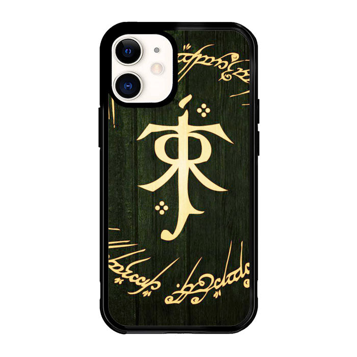 LORD OF THE RING SYMBOL Z1090 iPhone 12 Mini Case