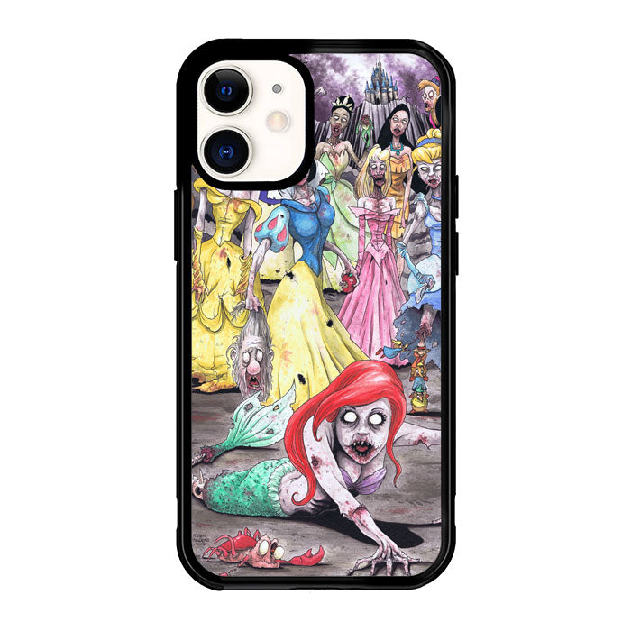 All Princess Disney Zombie Z1285 iPhone 12 Mini Case