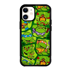 Teenage Mutant Ninja Turtles Collage Z1415 iPhone 12 Mini Case