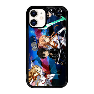 sword art online kirito and asuna Z2295 iPhone 12 Mini Case
