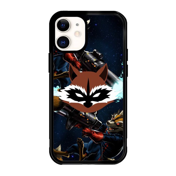rocket raccoon Z2360 iPhone 12 Mini Case