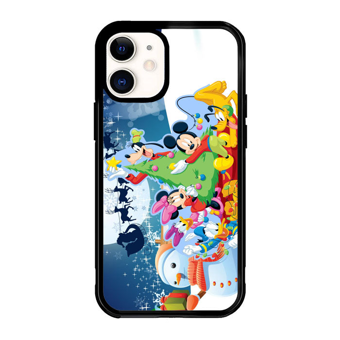 mickey mouse and friends christmas Z2695 iPhone 12 Mini Case