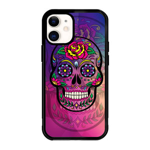 Sugar Skull Colorful  Z2813 iPhone 12 Mini Case