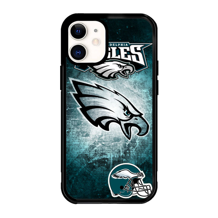 Philadelphia Eagles logo Z3017 iPhone 12 Mini Case