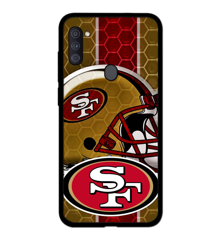 San Francisco 49ers logo A1806 Samsung Galaxy A11 Case