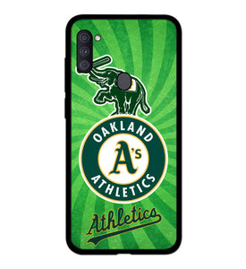 Oakland Athletics A1829 Samsung Galaxy A11 Case