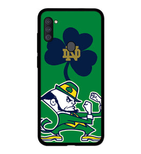 Notre Dame Fighting Irish logo A1833 Samsung Galaxy A11 Case
