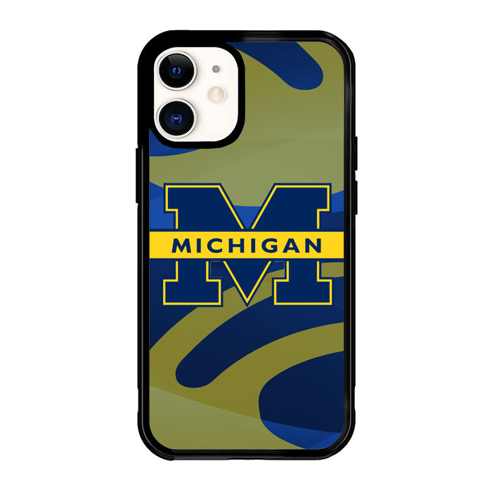 Michigan logo Z3354 iPhone 12 Mini Case