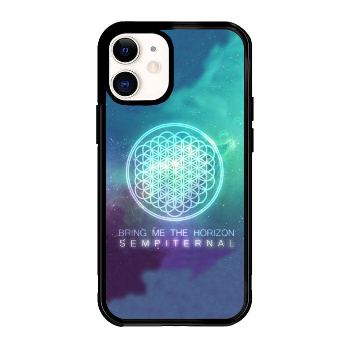 bring me the horizon logo sempiternal Galaxy Z3974 iPhone 12 Mini Case