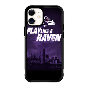 Baltimore Ravens Z4143 iPhone 12 Mini Case