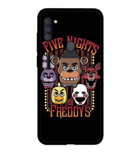 Five Nights At Freddy's Characters A1954 Samsung Galaxy A11 Case