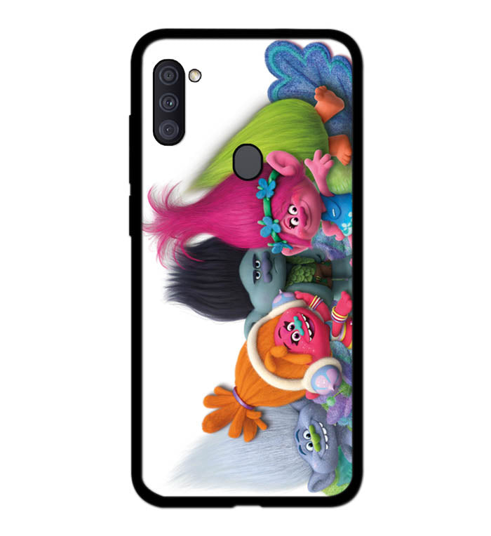 trolls cartoon movie A1991 Samsung Galaxy A11 Case