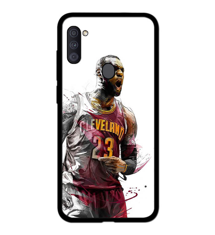 lebron james art A2002 Samsung Galaxy A11 Case