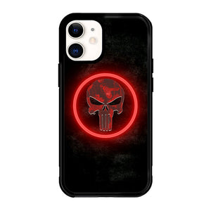 The punisher Skul Logo Z4268 iPhone 12 Mini Case