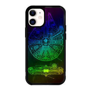 star wars millennium X4888 iPhone 12 Mini Case