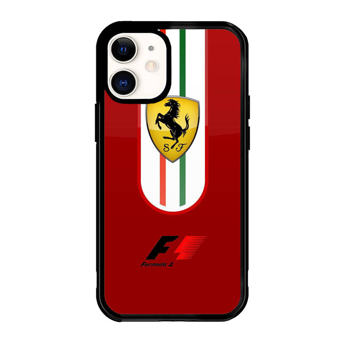Ferrari Red F1 X4918 iPhone 12 Mini Case