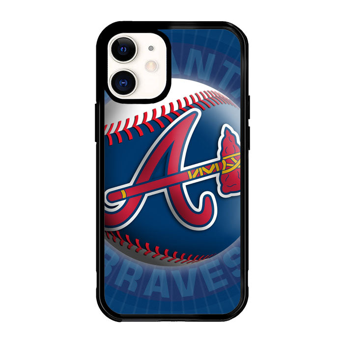 Atlanta Braves Logo X4993 iPhone 12 Mini Case
