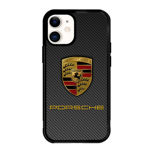 Porsche Logo Carbon X5017 iPhone 12 Mini Case