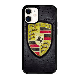 porsche emblem X5624 iPhone 12 Mini Case