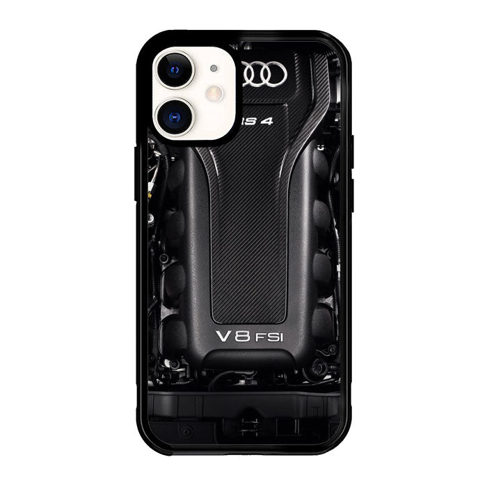 Audi RS 4 engine X5693 iPhone 12 Mini Case
