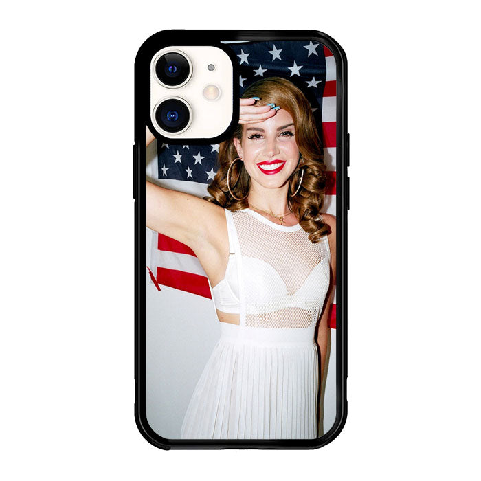 Lana Del Rey American Flag X5877 iPhone 12 Mini Case