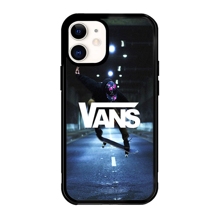 Black Vans Off The Wall X5987 iPhone 12 Mini Case